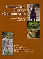 Predicting species occurrences : issues of accuracy and scale