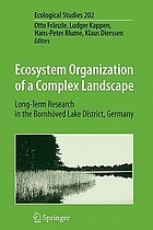 Ecosystem organization of a complex landscape : long-term research in the Bornhöved Lake district, Germany