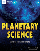 Planetary science : explore new frontiers