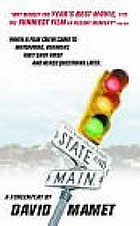 State and main : a screenplay
