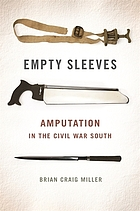 Empty sleeves : amputation in the Civil War South
