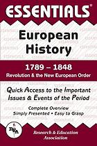 The Essentials of European history.