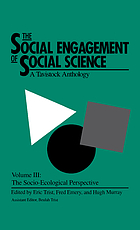 The Social engagement of social science : a Tavistock anthology
