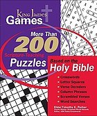 King James games : study puzzles crafted for the learning and memorization of God's word