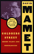 Goldberg Street : short plays and monologues