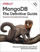MongoDB : the defintive guide : powerful and scalable data storage