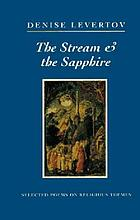 The stream & the sapphire : selected poems on religious themes