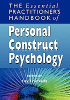 The essential handbook of personal construct psychology