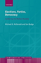 Elections, parties, democracy : conferring the median mandate