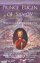 Prince Eugen of Savoy : a biography