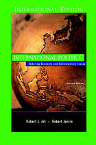 Art Jervis International Politics Enduring Concepts And Contemporary Issues