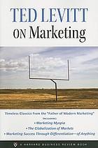 marketing myopia levitt summary