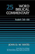 Word biblical commentary : Isaiah 34-66