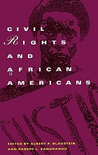 Civil rights and African Americans : a documentary history