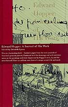 Edward Hopper : a journal of his work