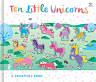 Ten little unicorns : a counting book