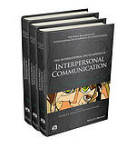 The international encyclopedia of interpersonal communication. 1 : A-E