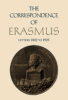Collected works of Erasmus.