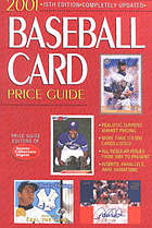 2001 Baseball card price guide