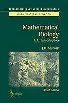 Mathematical biology. I, Introduction