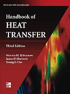 Handbook of heat transfer