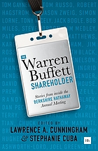 Warren Buffett shareholder : stories from inside the Berkshire Hathaway Annual Meeting