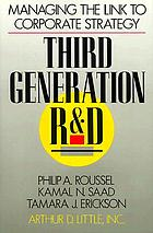 Third generation R&D : managing the link to corporate strategy