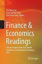 Finance & Economics Readings : Selected Papers from Asia-Pacific Conference on Economics & Finance, 2017