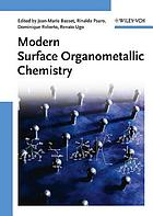 Modern surface organometallic chemistry