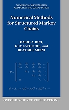 Numerical Methods for Structured Markov Chains