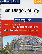 San Diego county street guide : including portions of Imperial County
