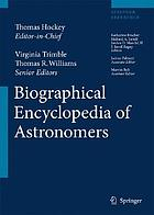 The biographical encyclopedia of astronomers / 2, M - Z.