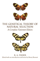 The genetical theory of natural selection : a complete variorum edition
