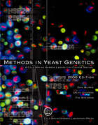 Methods in yeast genetics : a Cold Spring Harbor Laboratory course manual