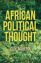African Political Thought.