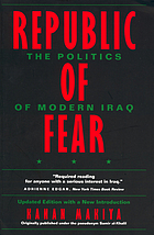 Republic of fear : the politics of modern Iraq