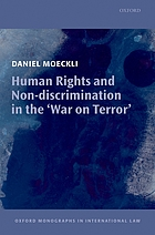 Human rights and non-discrimination in the