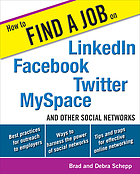 How to find a job on Linkedin, Facebook, MySpace, Twitter and other social networks