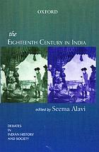 The eighteenth century in India