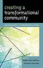 Creating a transformational community : the fundamentals of stewardship activities