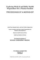 Exploring medical and public health preparedness for a nuclear incident : proceedings of a workshop