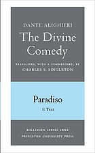 Dante Alighieri The divine comedy. Paradiso. 2, Commentary