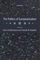 The politics of Europeanization