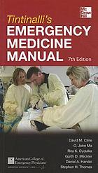 Tintinalli's emergency medicine manual.