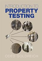 Introduction to property testing