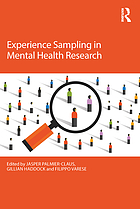 Experience sampling in mental health research