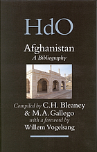 Afghanistan : a bibliography