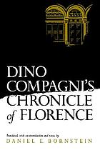 Dino Compagni's Chronicle of Florence (Middle Ages)