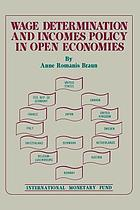 Wage determination and income policy in open economies