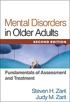 Mental disorders in older adults fundamentals of assessment and treatment